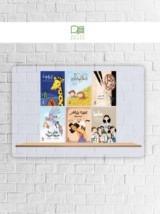 سلسلة الدحنون للأطفال 7 أجزاء